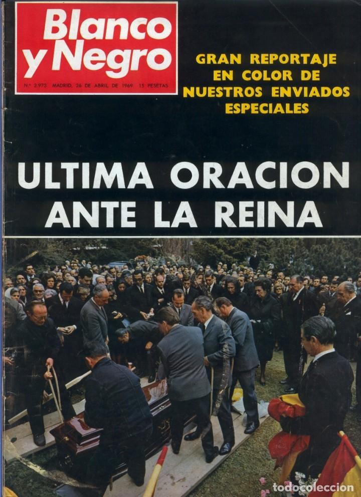 BLANCO Y NEGRO 2973 - REINA VICTORIA EUGENIA CLAUDIA CARDINALE DE GAULLE CURRO ROMERO - VER FOTOS (Coleccionismo - Revistas y Periódicos Modernos (a partir de 1.940) - Blanco y Negro)