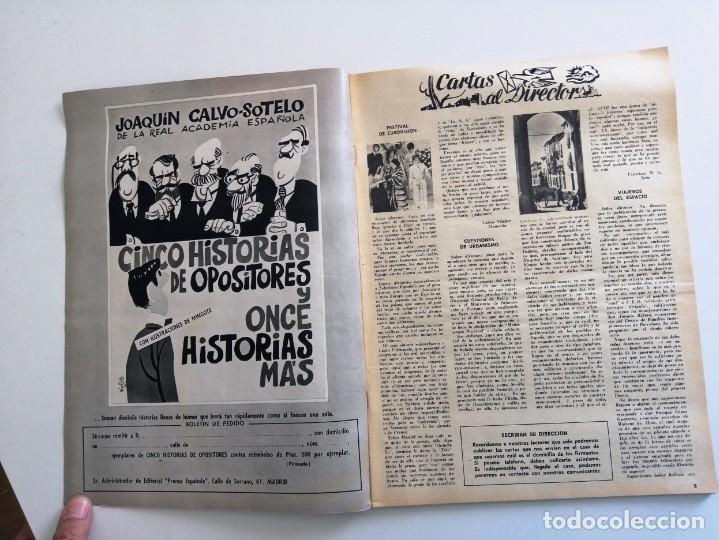 Coleccionismo de Revista Blanco y Negro: Blanco y Negro 2973 - Reina Victoria Eugenia Claudia Cardinale de Gaulle Curro Romero - VER FOTOS - Foto 3 - 206893877