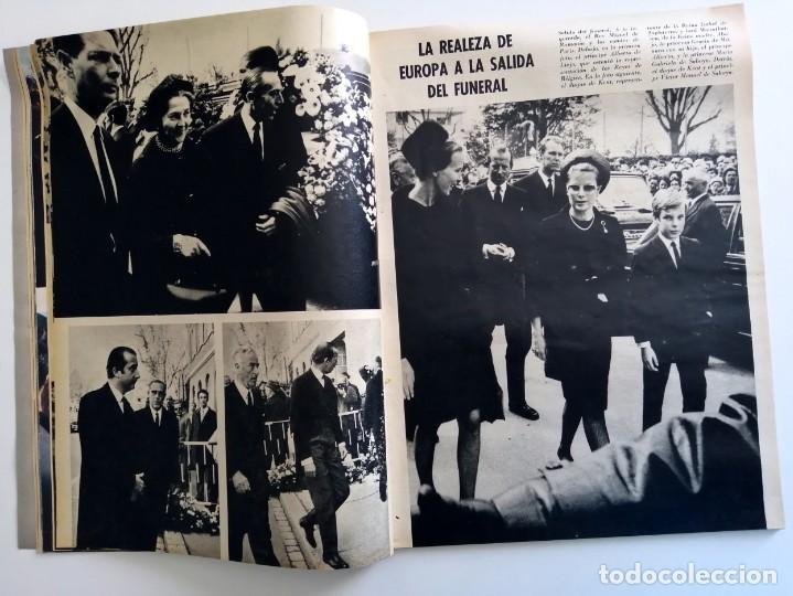 Coleccionismo de Revista Blanco y Negro: Blanco y Negro 2973 - Reina Victoria Eugenia Claudia Cardinale de Gaulle Curro Romero - VER FOTOS - Foto 15 - 206893877