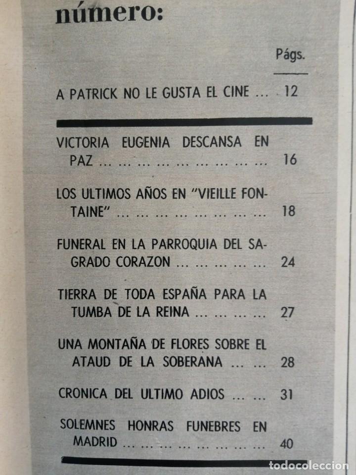 Coleccionismo de Revista Blanco y Negro: Blanco y Negro 2973 - Reina Victoria Eugenia Claudia Cardinale de Gaulle Curro Romero - VER FOTOS - Foto 18 - 206893877