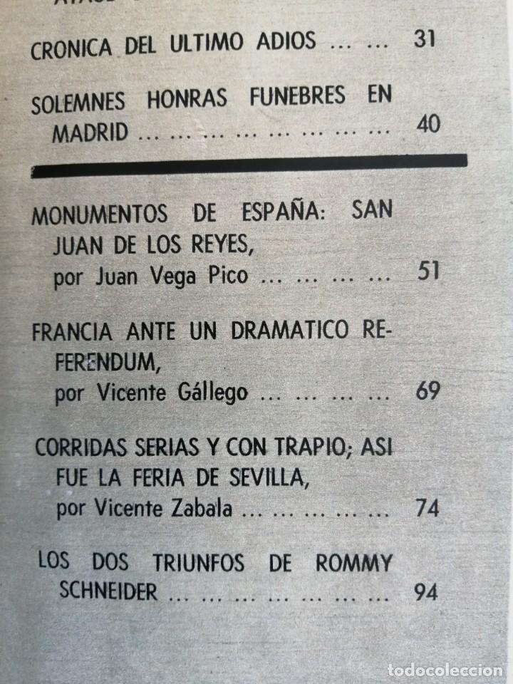 Coleccionismo de Revista Blanco y Negro: Blanco y Negro 2973 - Reina Victoria Eugenia Claudia Cardinale de Gaulle Curro Romero - VER FOTOS - Foto 19 - 206893877