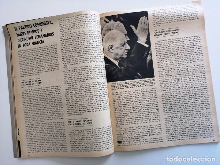 Coleccionismo de Revista Blanco y Negro: Blanco y Negro 2973 - Reina Victoria Eugenia Claudia Cardinale de Gaulle Curro Romero - VER FOTOS - Foto 23 - 206893877