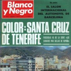 Coleccionismo de Revista Blanco y Negro: BLANCO Y NEGRO 2974 -BRIGITTE BARDOT ANTONIO ORDOÑEZ CONCHA MÁRQUEZ PIQUER SALÓN AUTOMOVIL-VER FOTOS. Lote 206894348
