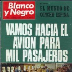 Coleccionismo de Revista Blanco y Negro: BLANCO Y NEGRO 2979 - CONCHA ESPINA ANIVERSARIO VICTORIA FRANCO APOLO 10 MARIA CALLAS - VER FOTOS. Lote 206894967