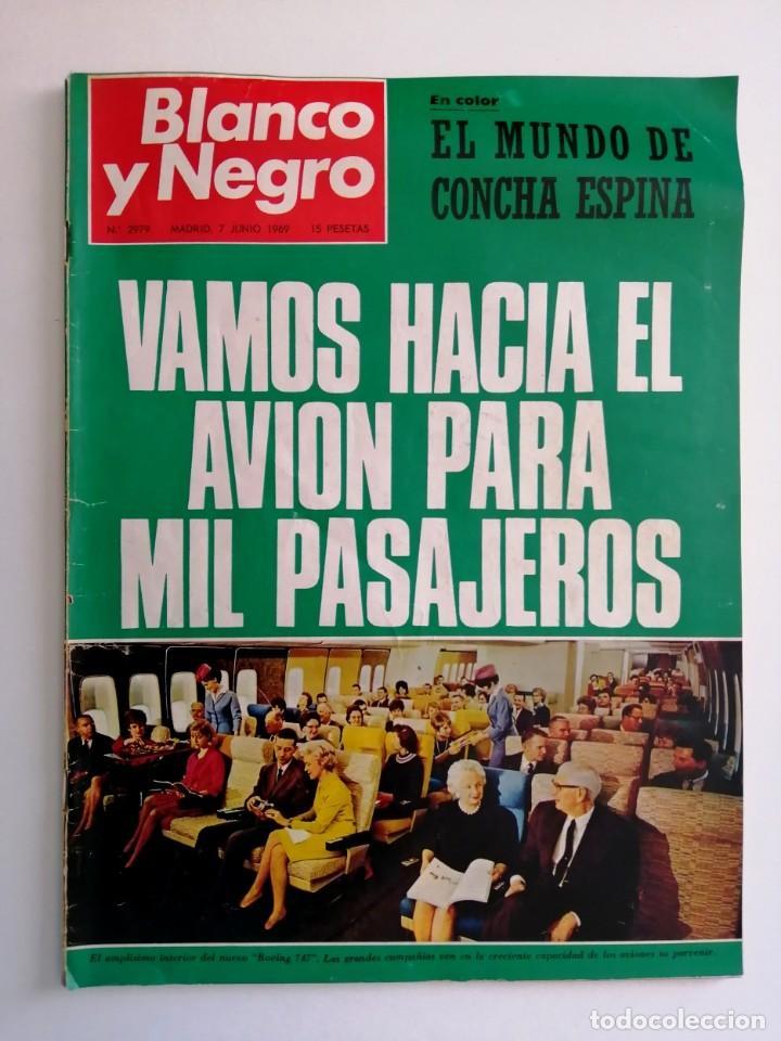 Coleccionismo de Revista Blanco y Negro: Blanco y Negro 2979 - Concha Espina Aniversario victoria Franco Apolo 10 Maria Callas - VER FOTOS - Foto 2 - 206894967