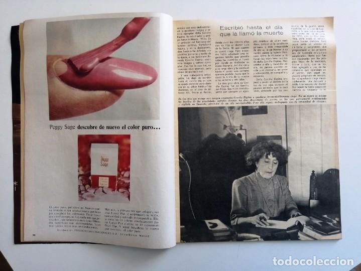 Coleccionismo de Revista Blanco y Negro: Blanco y Negro 2979 - Concha Espina Aniversario victoria Franco Apolo 10 Maria Callas - VER FOTOS - Foto 7 - 206894967