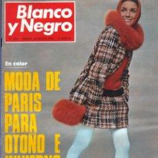 Coleccionismo de Revista Blanco y Negro: BLANCO Y NEGRO 2991 - MODA PARÍS REGATA RÍO ORIA MICHAEL COLLINS PAQUIRRI PUERTA ULSTER - VER FOTOS. Lote 206916322