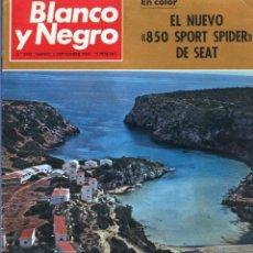 Coleccionismo de Revista Blanco y Negro: BLANCO Y NEGRO 2992 - BELFAST CONDE CARLOS DE ROSEN ERNESTO HALFFTER MENORCA 850 SPORT - VER FOTOS. Lote 206920901