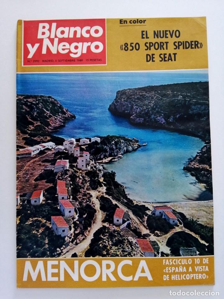 Coleccionismo de Revista Blanco y Negro: Blanco y Negro 2992 - Belfast Conde Carlos de Rosen Ernesto Halffter Menorca 850 Sport - VER FOTOS - Foto 2 - 206920901