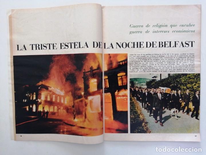Coleccionismo de Revista Blanco y Negro: Blanco y Negro 2992 - Belfast Conde Carlos de Rosen Ernesto Halffter Menorca 850 Sport - VER FOTOS - Foto 4 - 206920901