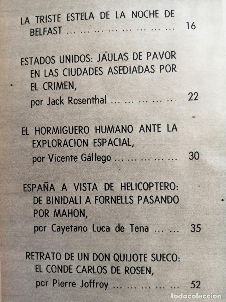 Coleccionismo de Revista Blanco y Negro: Blanco y Negro 2992 - Belfast Conde Carlos de Rosen Ernesto Halffter Menorca 850 Sport - VER FOTOS - Foto 5 - 206920901