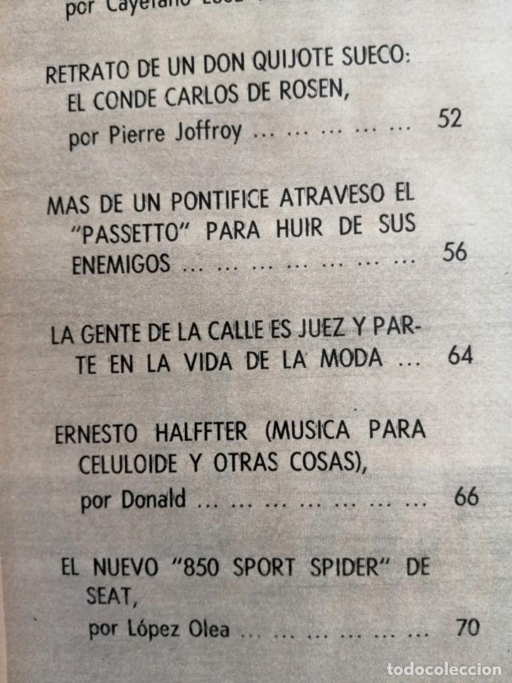 Coleccionismo de Revista Blanco y Negro: Blanco y Negro 2992 - Belfast Conde Carlos de Rosen Ernesto Halffter Menorca 850 Sport - VER FOTOS - Foto 6 - 206920901