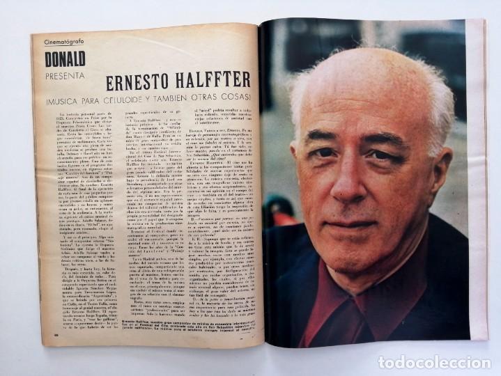 Coleccionismo de Revista Blanco y Negro: Blanco y Negro 2992 - Belfast Conde Carlos de Rosen Ernesto Halffter Menorca 850 Sport - VER FOTOS - Foto 19 - 206920901