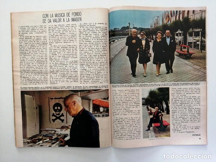 Coleccionismo de Revista Blanco y Negro: Blanco y Negro 2992 - Belfast Conde Carlos de Rosen Ernesto Halffter Menorca 850 Sport - VER FOTOS - Foto 20 - 206920901