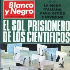 Coleccionismo de Revista Blanco y Negro: BLANCO Y NEGRO 2993 - ENERGÍA SOLAR II GUERRA MUNDIAL MARTE PAQUIRRI PUERTA PONTEVEDRA - VER FOTOS. Lote 206922085