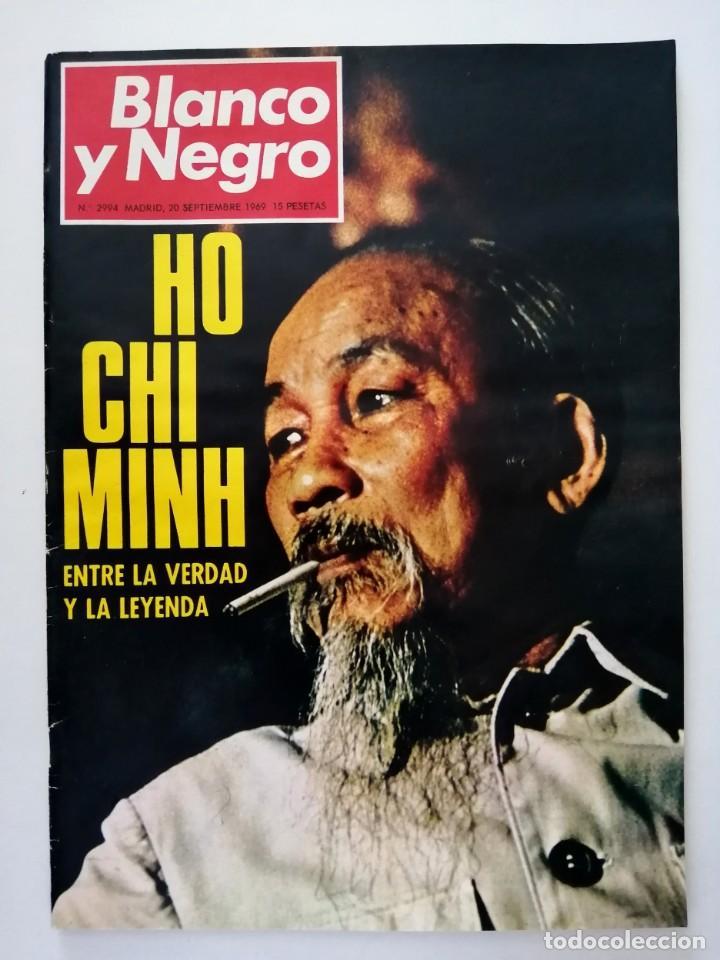 Coleccionismo de Revista Blanco y Negro: Blanco y Negro 2994 - Ho Chi Minh Apolo 11 Julio Beobide Jane Fonda Hollywood Benz Wankel- VER FOTOS - Foto 2 - 206923451