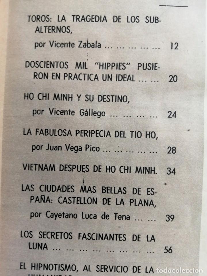 Coleccionismo de Revista Blanco y Negro: Blanco y Negro 2994 - Ho Chi Minh Apolo 11 Julio Beobide Jane Fonda Hollywood Benz Wankel- VER FOTOS - Foto 5 - 206923451