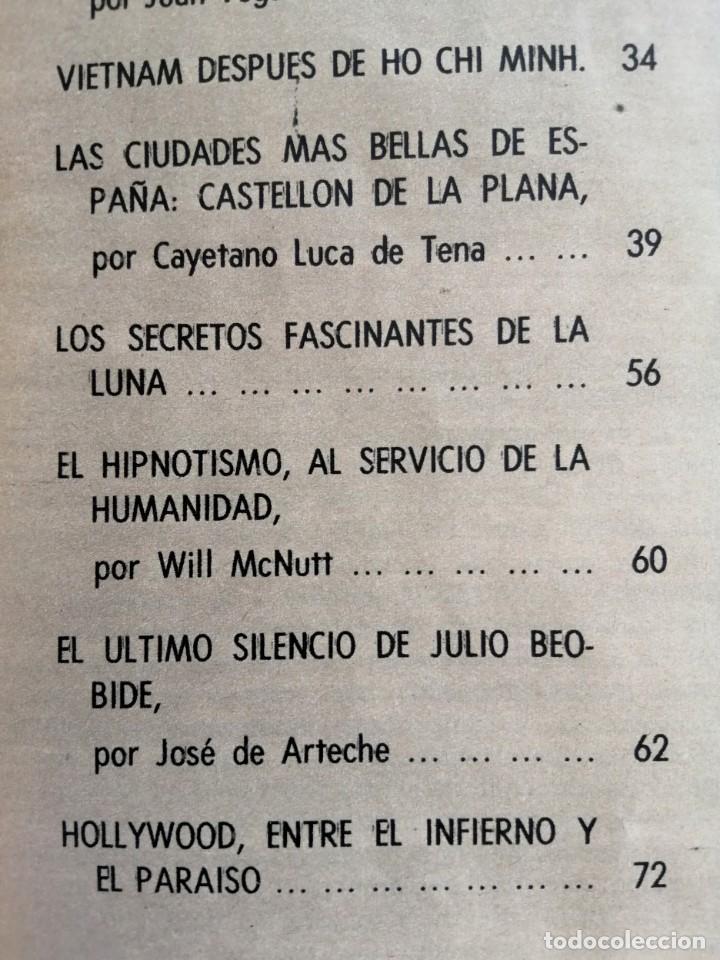 Coleccionismo de Revista Blanco y Negro: Blanco y Negro 2994 - Ho Chi Minh Apolo 11 Julio Beobide Jane Fonda Hollywood Benz Wankel- VER FOTOS - Foto 6 - 206923451