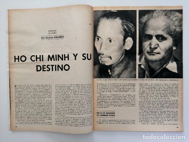 Coleccionismo de Revista Blanco y Negro: Blanco y Negro 2994 - Ho Chi Minh Apolo 11 Julio Beobide Jane Fonda Hollywood Benz Wankel- VER FOTOS - Foto 7 - 206923451