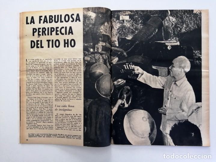 Coleccionismo de Revista Blanco y Negro: Blanco y Negro 2994 - Ho Chi Minh Apolo 11 Julio Beobide Jane Fonda Hollywood Benz Wankel- VER FOTOS - Foto 8 - 206923451