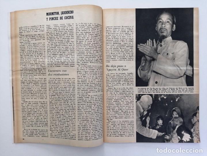 Coleccionismo de Revista Blanco y Negro: Blanco y Negro 2994 - Ho Chi Minh Apolo 11 Julio Beobide Jane Fonda Hollywood Benz Wankel- VER FOTOS - Foto 9 - 206923451