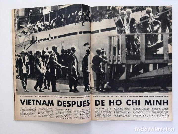 Coleccionismo de Revista Blanco y Negro: Blanco y Negro 2994 - Ho Chi Minh Apolo 11 Julio Beobide Jane Fonda Hollywood Benz Wankel- VER FOTOS - Foto 10 - 206923451