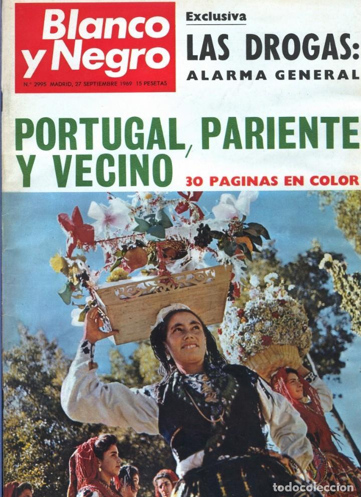 BLANCO Y NEGRO 2995 - PACO CAMINO DAMASO GÓMEZ NIXON SINTRA FELICIANO RIVILLA PELÉ - VER FOTOS (Coleccionismo - Revistas y Periódicos Modernos (a partir de 1.940) - Blanco y Negro)