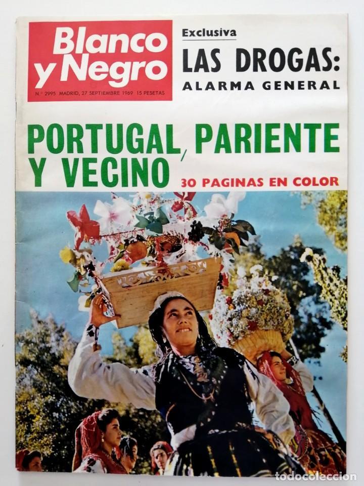 Coleccionismo de Revista Blanco y Negro: Blanco y Negro 2995 - Paco Camino Damaso Gómez Nixon Sintra Feliciano Rivilla Pelé - VER FOTOS - Foto 2 - 206924180