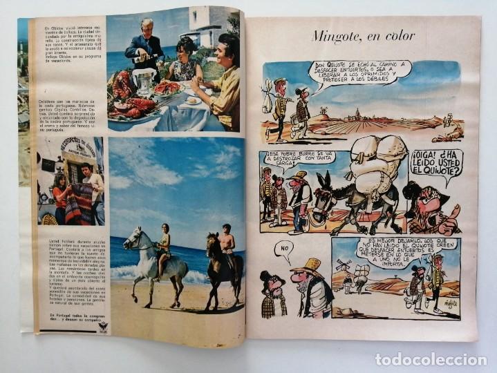 Coleccionismo de Revista Blanco y Negro: Blanco y Negro 2995 - Paco Camino Damaso Gómez Nixon Sintra Feliciano Rivilla Pelé - VER FOTOS - Foto 6 - 206924180