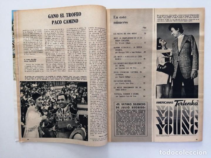 Coleccionismo de Revista Blanco y Negro: Blanco y Negro 2995 - Paco Camino Damaso Gómez Nixon Sintra Feliciano Rivilla Pelé - VER FOTOS - Foto 11 - 206924180