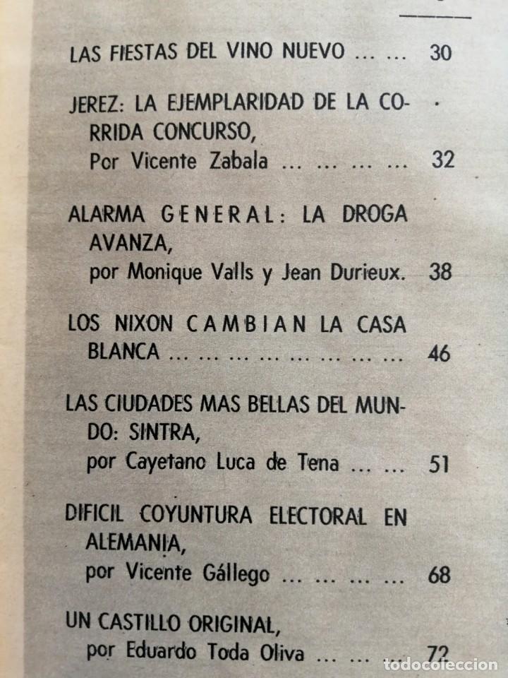 Coleccionismo de Revista Blanco y Negro: Blanco y Negro 2995 - Paco Camino Damaso Gómez Nixon Sintra Feliciano Rivilla Pelé - VER FOTOS - Foto 12 - 206924180