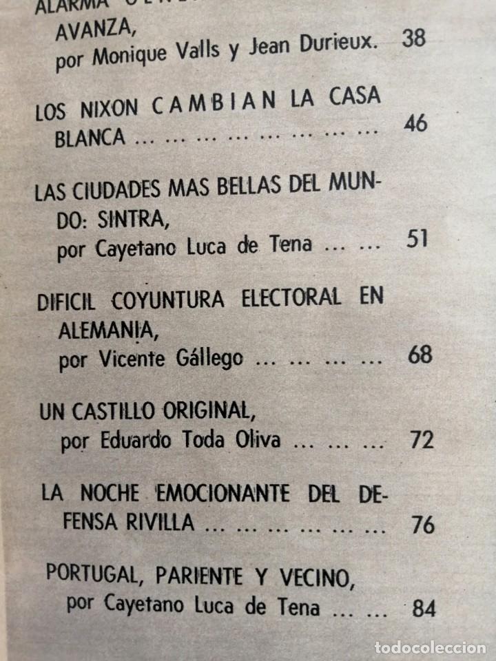 Coleccionismo de Revista Blanco y Negro: Blanco y Negro 2995 - Paco Camino Damaso Gómez Nixon Sintra Feliciano Rivilla Pelé - VER FOTOS - Foto 13 - 206924180