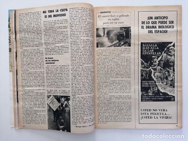 Coleccionismo de Revista Blanco y Negro: Blanco y Negro 2995 - Paco Camino Damaso Gómez Nixon Sintra Feliciano Rivilla Pelé - VER FOTOS - Foto 16 - 206924180