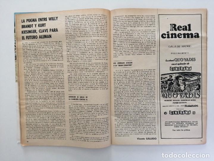 Coleccionismo de Revista Blanco y Negro: Blanco y Negro 2995 - Paco Camino Damaso Gómez Nixon Sintra Feliciano Rivilla Pelé - VER FOTOS - Foto 22 - 206924180