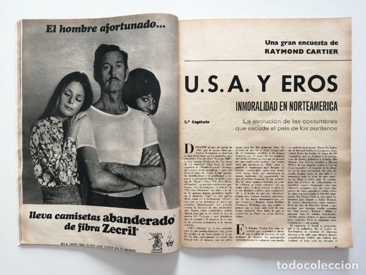 Coleccionismo de Revista Blanco y Negro: Blanco y Negro 2998 - Monasterio de Piedra Apolo 11 Franco Joseph Losey Eddy Merckk - VER FOTOS - Foto 10 - 206925472