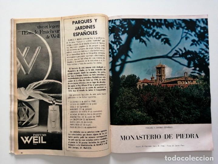 Coleccionismo de Revista Blanco y Negro: Blanco y Negro 2998 - Monasterio de Piedra Apolo 11 Franco Joseph Losey Eddy Merckk - VER FOTOS - Foto 13 - 206925472