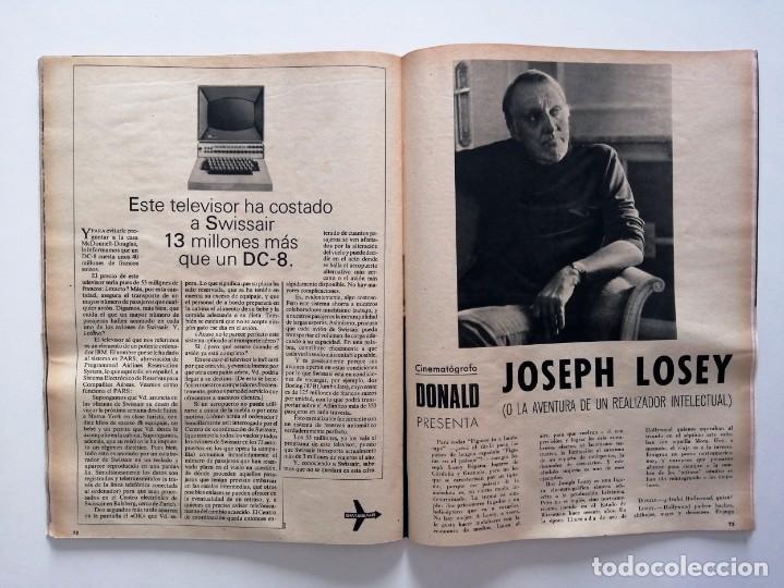 Coleccionismo de Revista Blanco y Negro: Blanco y Negro 2998 - Monasterio de Piedra Apolo 11 Franco Joseph Losey Eddy Merckk - VER FOTOS - Foto 18 - 206925472