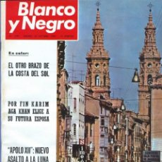 Coleccionismo de Revista Blanco y Negro: BLANCO Y NEGRO 2999 - KARIM AGA KHAN APOLO XII 12 LLONA LEVY GUERRA VIETNAM LOS KENNEDY - VER FOTOS. Lote 206928277