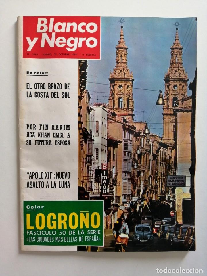 Coleccionismo de Revista Blanco y Negro: Blanco y Negro 2999 - Karim Aga Khan Apolo XII 12 LLona Levy Guerra Vietnam Los Kennedy - VER FOTOS - Foto 2 - 206928277