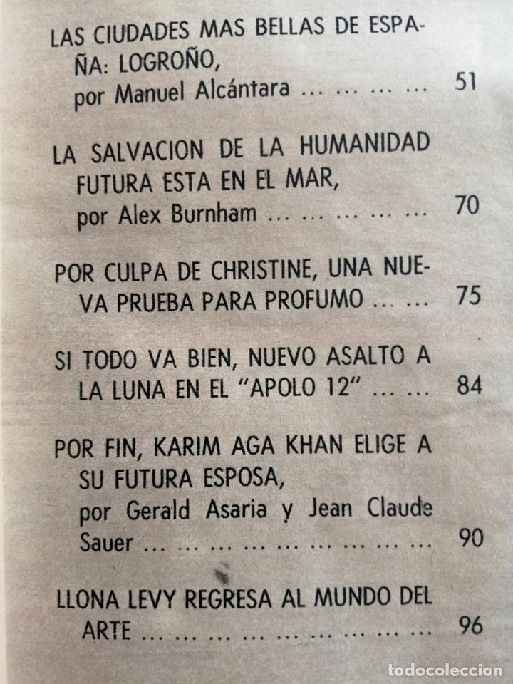 Coleccionismo de Revista Blanco y Negro: Blanco y Negro 2999 - Karim Aga Khan Apolo XII 12 LLona Levy Guerra Vietnam Los Kennedy - VER FOTOS - Foto 7 - 206928277