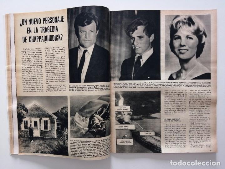 Coleccionismo de Revista Blanco y Negro: Blanco y Negro 2999 - Karim Aga Khan Apolo XII 12 LLona Levy Guerra Vietnam Los Kennedy - VER FOTOS - Foto 10 - 206928277