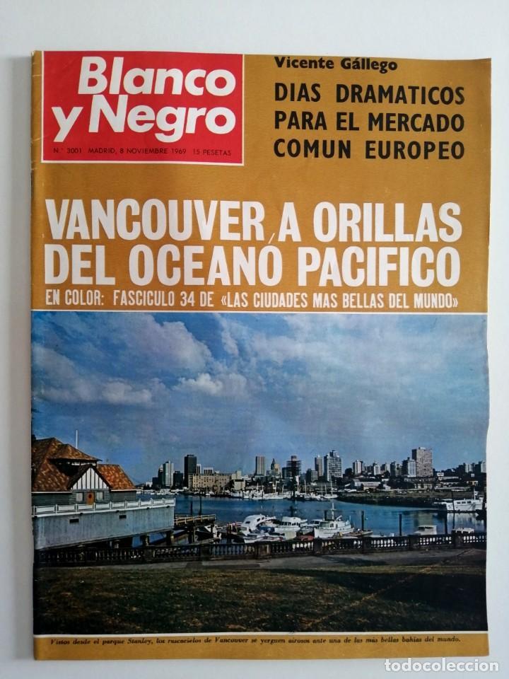 Coleccionismo de Revista Blanco y Negro: Blanco y Negro 3001 -Vancouver Ted Kennedy Sophie Duguet Arafat Shirley Temple Marsillach -VER FOTOS - Foto 2 - 206929152