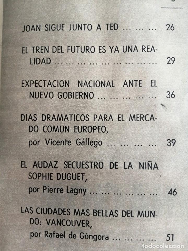 Coleccionismo de Revista Blanco y Negro: Blanco y Negro 3001 -Vancouver Ted Kennedy Sophie Duguet Arafat Shirley Temple Marsillach -VER FOTOS - Foto 7 - 206929152