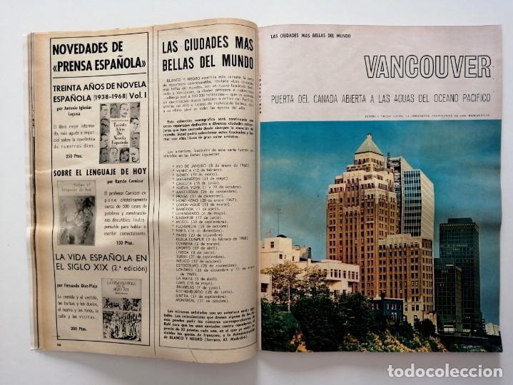 Coleccionismo de Revista Blanco y Negro: Blanco y Negro 3001 -Vancouver Ted Kennedy Sophie Duguet Arafat Shirley Temple Marsillach -VER FOTOS - Foto 11 - 206929152