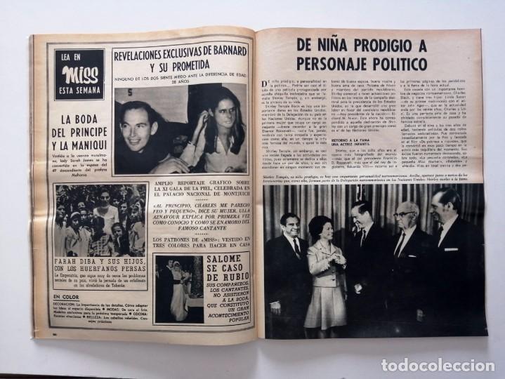 Coleccionismo de Revista Blanco y Negro: Blanco y Negro 3001 -Vancouver Ted Kennedy Sophie Duguet Arafat Shirley Temple Marsillach -VER FOTOS - Foto 16 - 206929152