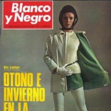 Coleccionismo de Revista Blanco y Negro: BLANCO Y NEGRO 3002 - JULIE NIXON APOLO XII WATERLOO POLLOCK SORIA MODA ESPAÑOLA - VER FOTOS. Lote 206929606