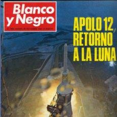 Coleccionismo de Revista Blanco y Negro: BLANCO Y NEGRO 3004 - APOLO XII MASSIEL DENTON COOLEY JOE KENNEDY JERUSALEN BEJAR - VER FOTOS. Lote 206931473