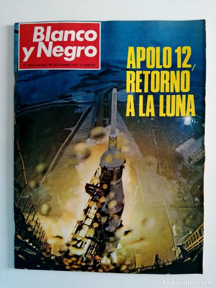 Coleccionismo de Revista Blanco y Negro: Blanco y Negro 3004 - Apolo XII Massiel Denton Cooley Joe Kennedy Jerusalen Bejar - VER FOTOS - Foto 2 - 206931473