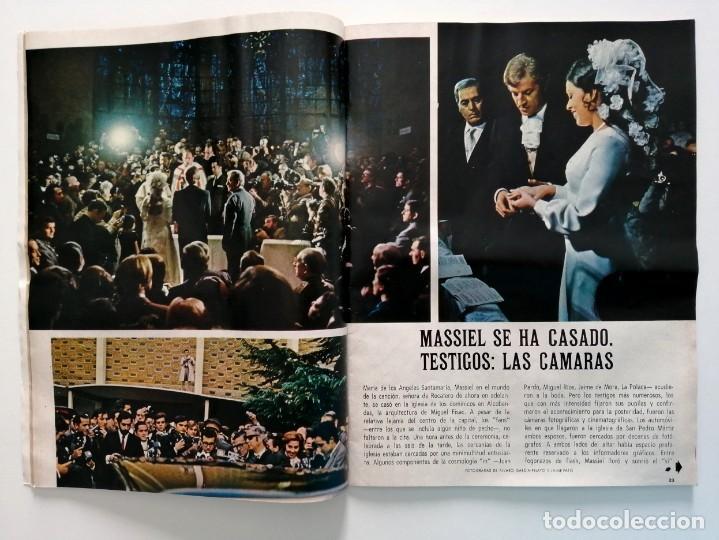 Coleccionismo de Revista Blanco y Negro: Blanco y Negro 3004 - Apolo XII Massiel Denton Cooley Joe Kennedy Jerusalen Bejar - VER FOTOS - Foto 4 - 206931473
