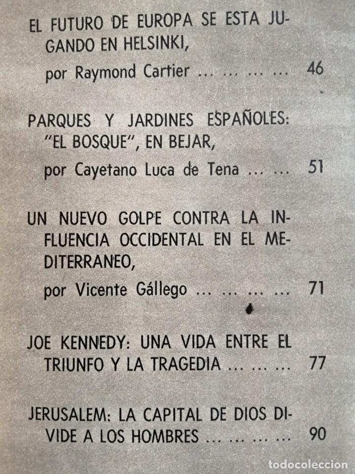 Coleccionismo de Revista Blanco y Negro: Blanco y Negro 3004 - Apolo XII Massiel Denton Cooley Joe Kennedy Jerusalen Bejar - VER FOTOS - Foto 8 - 206931473